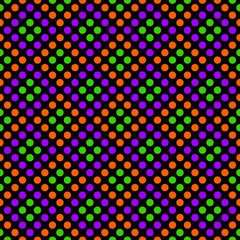 Seamless geometric pattern with rhombus of circles.