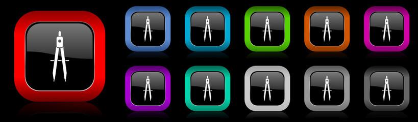 school vector icon set