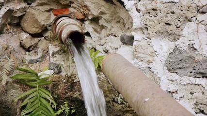 Broken Water Pipe Front
