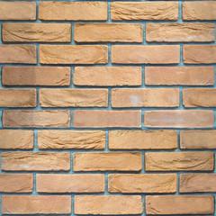 Decorative brick wall - seamless background - sandstone pattern