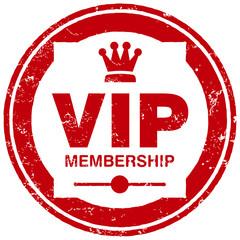 vip membership stamp