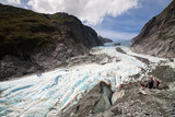 Scenic landscape at Franz Josef Glacier, New Zealand