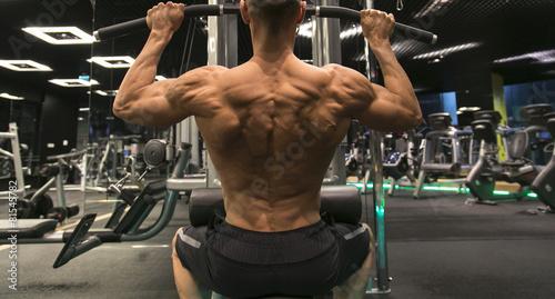 obraz PCV Bodybuilder