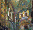 Leinwandbild Motiv Basilica of San Vitale, Ravenna, Italy