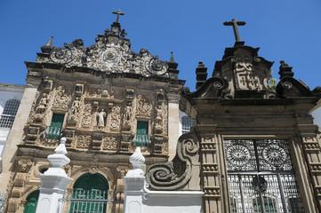 Pelourinho Salvador Bahia Brazil Church Facade