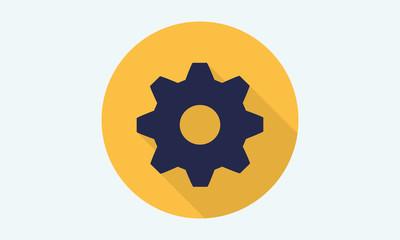 Gear icon -  vector stock 8