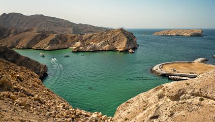 Beautiful beach in Muscat, Oman
