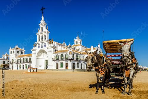 El Rocio Almonte Andalousie