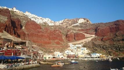 Breathtaking view of Greek town Oia