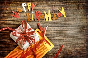 Поздравление с Днем рождения.