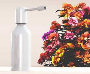 Spray con fiori