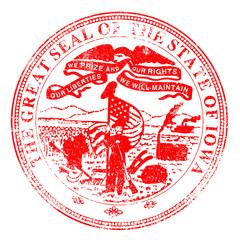 Iowa Seal Stamp