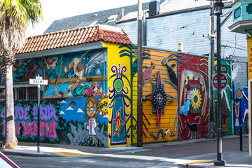 Murals in San Francisco, California