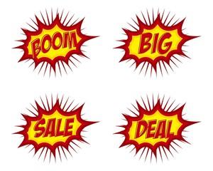 Icon Boom, Big, Sale, Deal