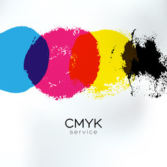 CMYK print service artistic identity