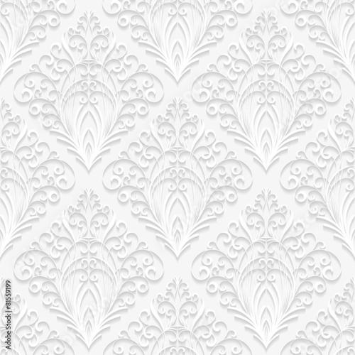Seamless floral pattern - 81559199