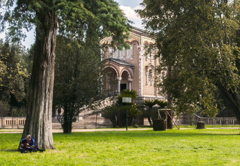 Chitarrista in Villa Doria Pamphili