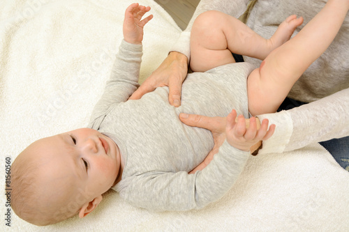 Heilpraktiker bei Baby Osteopathie - 81560560
