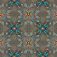 Seamless kaleidoscope texture or pattern