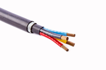 four core armored cable