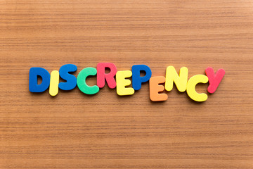 discrepency