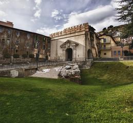 Porta del sole, Palestrina , Italia
