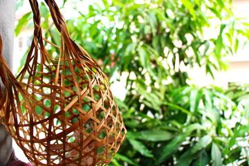 Thai biodegradable basketwork