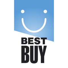 Best Buy blue logo background