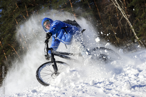 mountainbike snow winter extreme-#46
