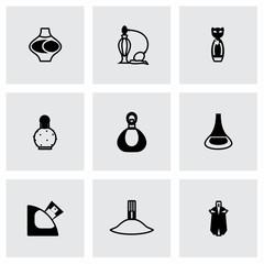 Vector Perfume icon set