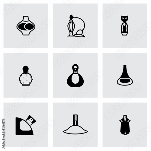 Vector Perfume icon set - 81566571