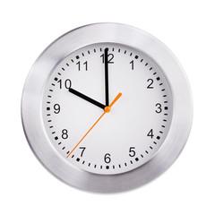 Exactly ten o'clock