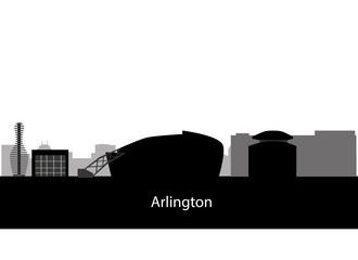 Arlington, Texas (city skyline)