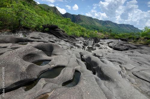 Moon Valley(Vale da Lua) - Chapada dos Veadeiros, Brazil