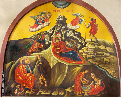 Bethlehem - Icon of Nativity from The Nativity church - 81568587