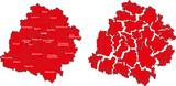 Map of Lodz Voivodship