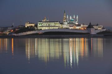 River Kazanka, Kazan Kremlin, Tatarstan, Russia