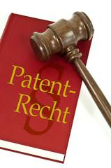 Richterhammer mit Patentrecht
