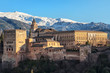 Aerial view of Alhambra Palace in Granada - 81569984