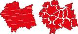map Małopolska