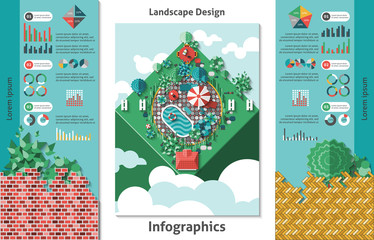 Landscape Design Infographics