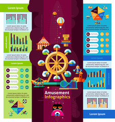 Amusement Park Infographics