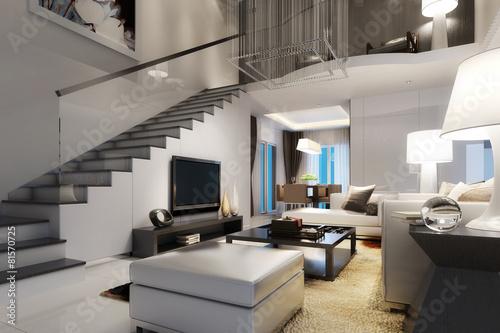 Modern Villa Interior - 81570725