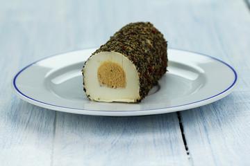 biały ser faszerowany