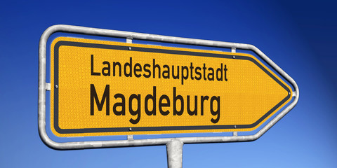 Wegweiser LH Magdeburg