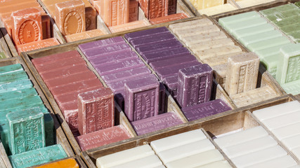Natural soap - a typical souvenir from Provence