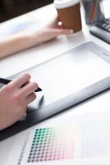 Graphic. Graphic design, printing, advertising Graphic designer