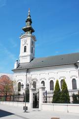 Saborna church, one of the attractions of Novi Sad