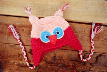 children's cap, owl