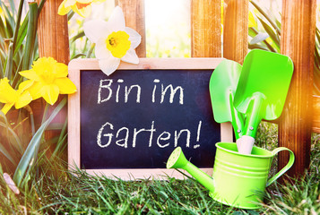 Erholung Arbeit Im Garten